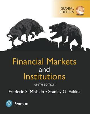 Financial Markets and Institutions,.. Cover