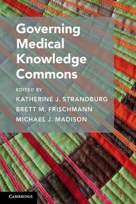 Governing Medical Knowledge Commons Cover