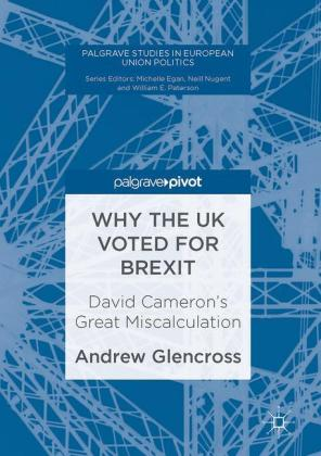 Why the UK Voted for Brexit: David.. Cover