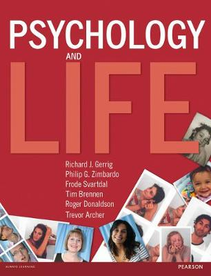 Psychology & Life and MyPsychLab pack Cover