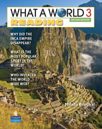 Broukal:What a World Reading SB3_p2 Cover