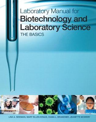 Laboratory Manual for Biotechnology and.. Cover