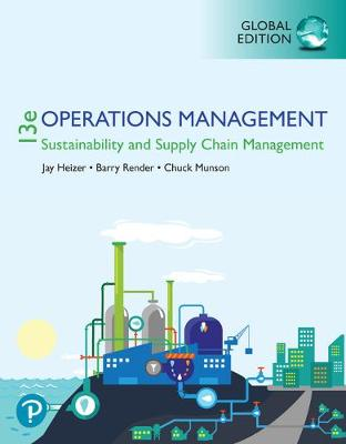 Operations Management: Sustainability.. Cover