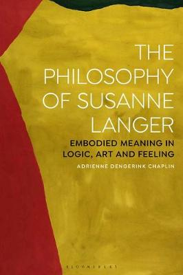 The Philosophy of Susanne Langer:.. Cover
