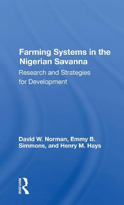 Farming Systems In The Nigerian Savanna:.. Cover