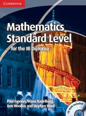 Mathematics for the IB Diploma Standard.. Cover