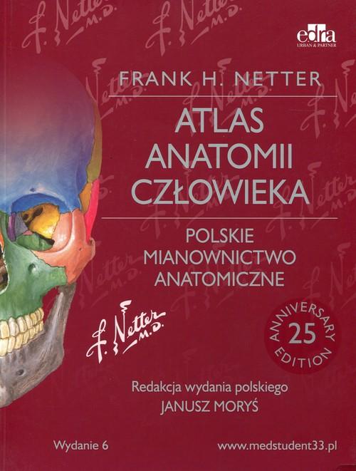 Atlas anatomii człowieka Polskie.. Cover