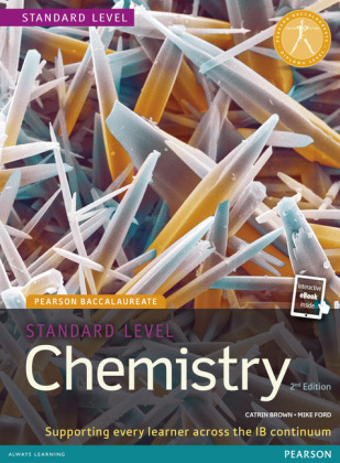 Pearson Baccalaureate Chemistry Standard.. Cover