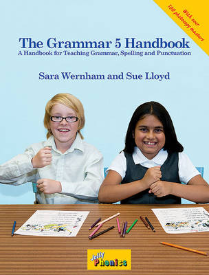 The Grammar 5 Handbook: In Precursive Letters (British English edition)