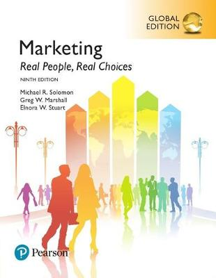 Marketing: Real People, Real Choices,.. Cover