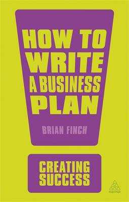 How to Write a Business Plan Cover