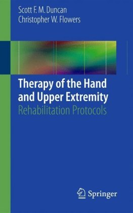 Therapy of the Hand and Upper Extremity:.. Cover