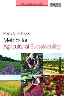 Metrics for Agricultural Sustainability Cover