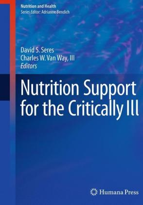 Nutrition Support for the Critically Ill Cover
