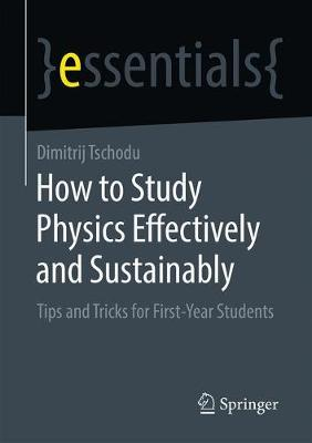 How to Study Physics Effectively and.. Cover