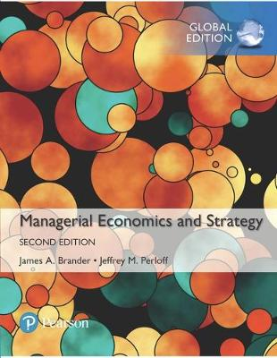 Managerial Economics and Strategy,.. Cover