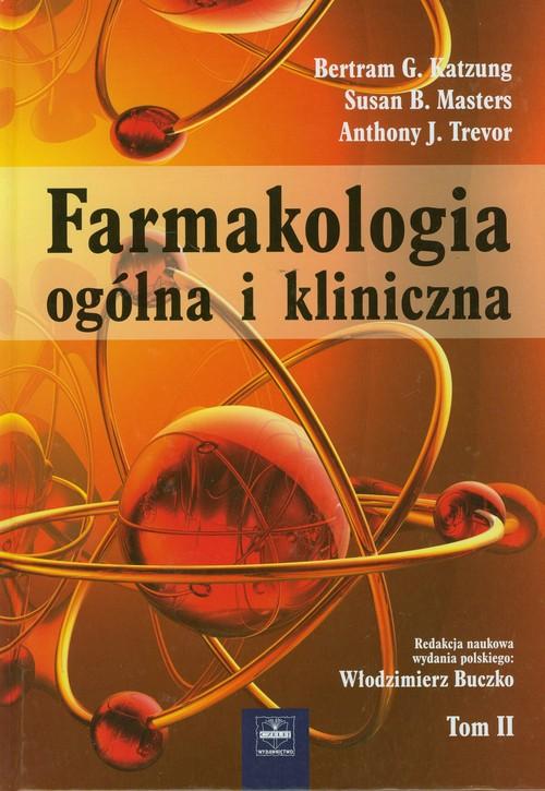 Farmakologia ogólna i kliniczna Tom 2 Cover