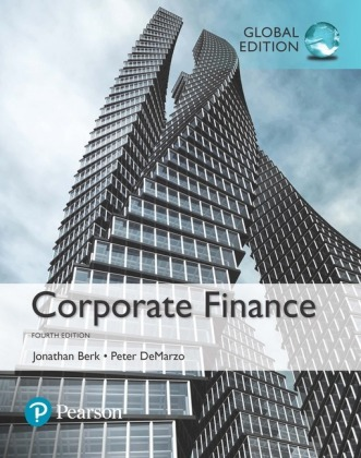 Corporate Finance, Global Edition Cover