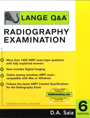 Appleton and Lange Review for the Radiography Examination