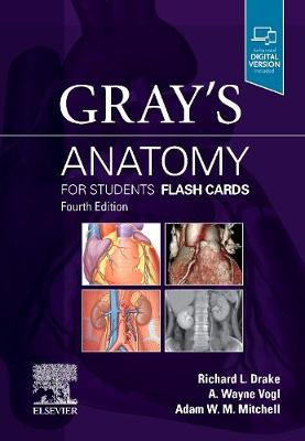 Gray's Anatomy for Students Flash Cards Cover