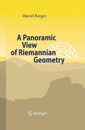 A Panoramic View of Riemannian Geometry Cover
