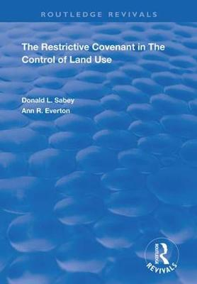 The Restrictive Covenant in the Control.. Cover