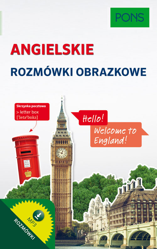Angielskie rozmówki obrazkowe Cover