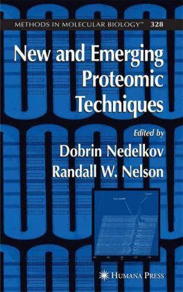 New & Emerging Proteomic Techniques