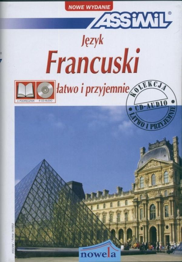 Język francuski łatwo i przyjemnie + 4.. Cover