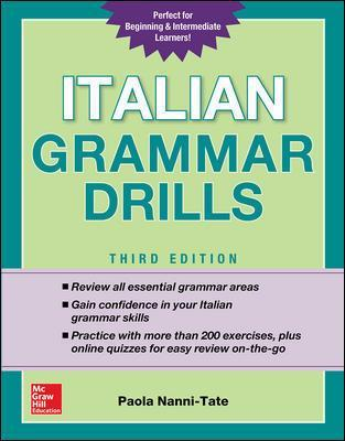 Mcgraw hill abe ips italian grammar drills third edition fandeluxe Image collections