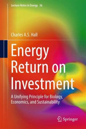Energy Return on Investment: A Unifying Principle for Biology, Economics, and Sustainability