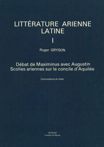 Debat de Maximinus avec Augustion Scolies Ariennes
