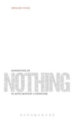 Narratives of Nothing in 20th-Century.. Cover