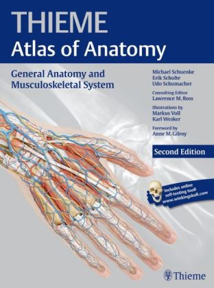 Thieme Atlas of Anatomy: General Anatomy.. Cover