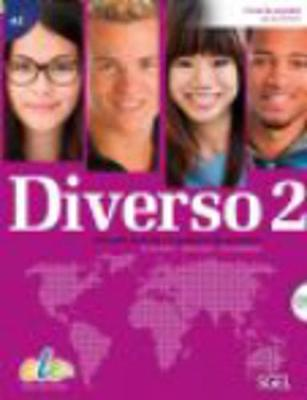 Diverso 2 + CD : Level A2 : Student Books with Exercises Book: Curso de Espanol Para Jovenes