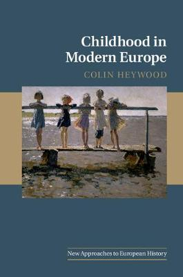 New Approaches to European History:.. Cover