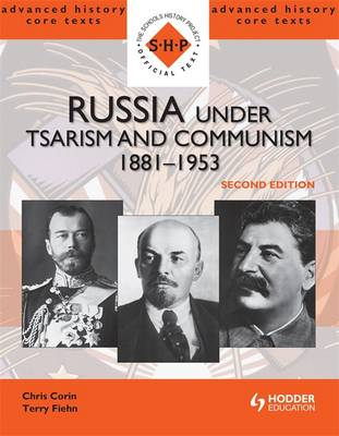 Russia Under Tsarism and Communism.. Cover