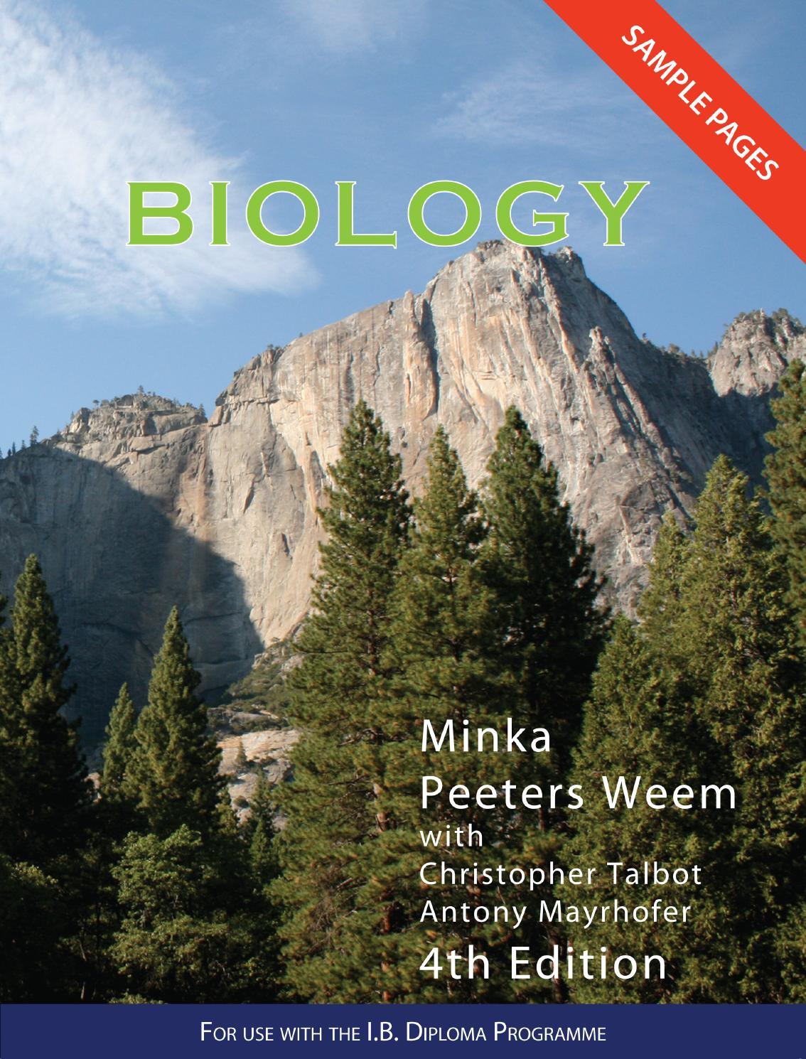 Biology for IB 4th Ed Textbook