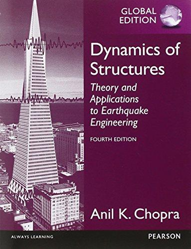 Dynamics of Structures, Global Edition Cover