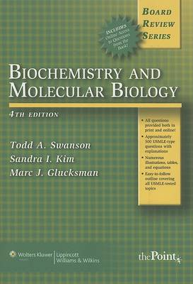 BRS Biochemistry and Molecular Biology 4e Cover