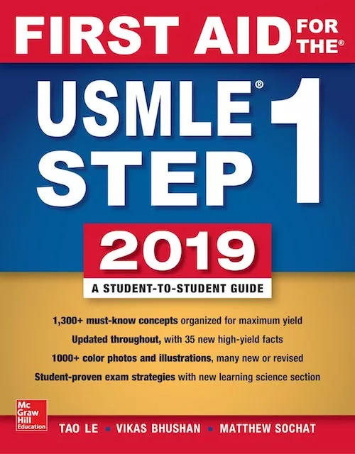 FIRST AID FOR THE USMLE STEP 1 2019 ISE Cover