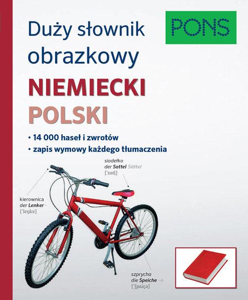 Duży słownik obrazkowy Niemiecki.. Cover