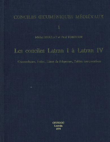 Conciles Latran I a Latran IV