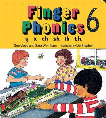 Finger Phonics book 6: in Precursive.. Cover