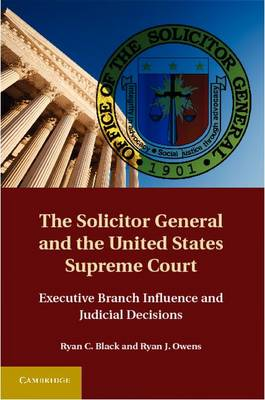 The Solicitor General and the United.. Cover