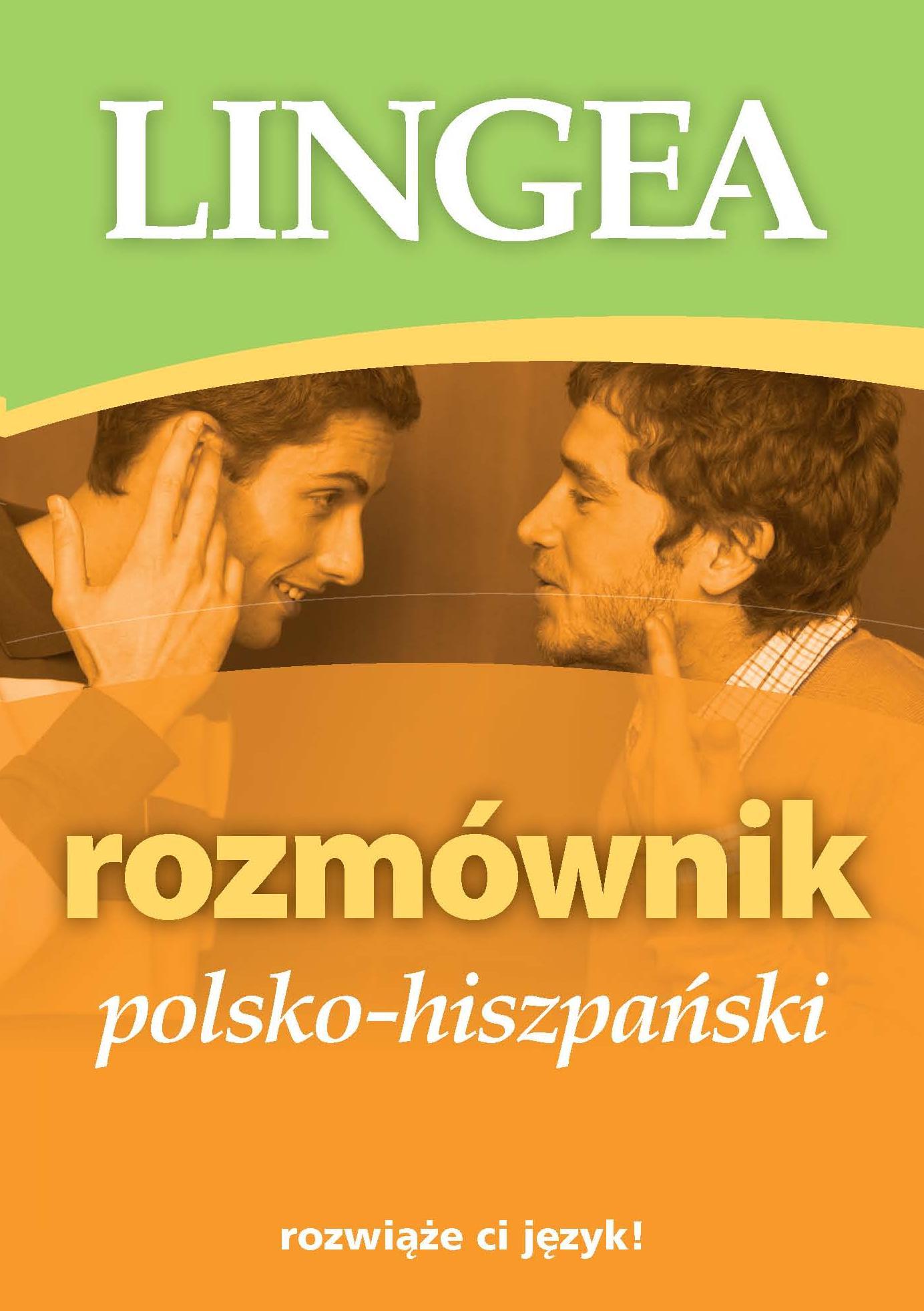 Rozmównik polsko - hiszpański Cover