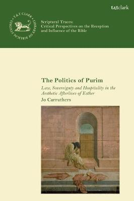 The Politics of Purim: Law, Sovereignty.. Cover