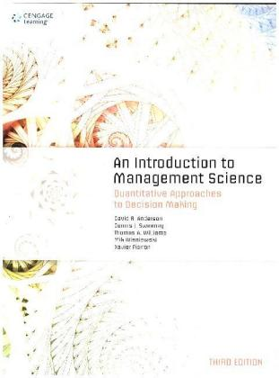 An Introduction to Management Science:.. Cover