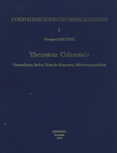 Thesaurus Celanensis vol.I