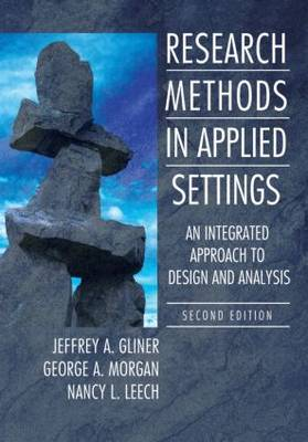 Research Methods in Applied Settings: An.. Cover